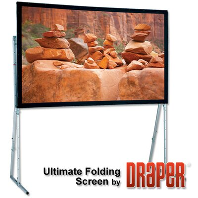 "Ultimate Folding Projection Screen Size/Format: 173"" diagonal / 16:10, Surface Finish: CineFlex"
