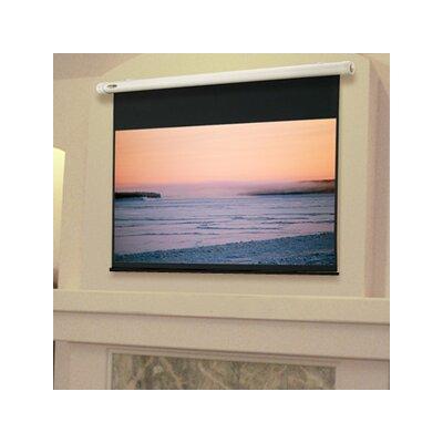"Salara Plug & Play White Electric Projection Screen Size/Format: 73"" diagonal / 16:9"