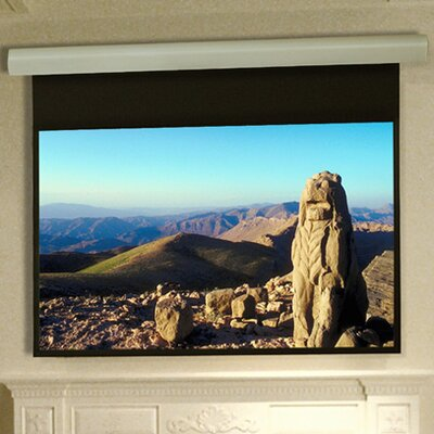 "Silhouette Series E Matt White Electric Projection Screen Size/Format: 92"" / 16:9"