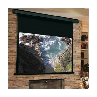 "Premier White Electric Projection Screen Low Voltage Motor Size/Format: 193"" diagonal / 16:9"