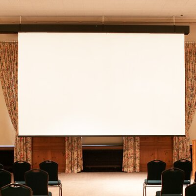 "Rolleramic Matte White Electric Projection Screen Size/Format: 94"" Diagonal / 16:10"