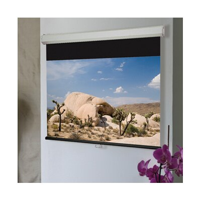 "Luma 2 Matt White Electric Projection Screen Size/Format: 110"" / 16:9"