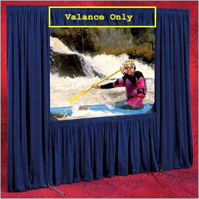 Draper Valance for Dress Kit (Black Velour)