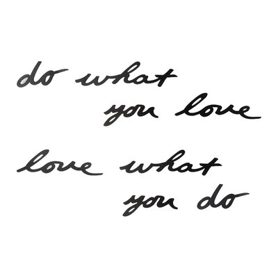 Umbra Mantra Do What You Love Wall Décor