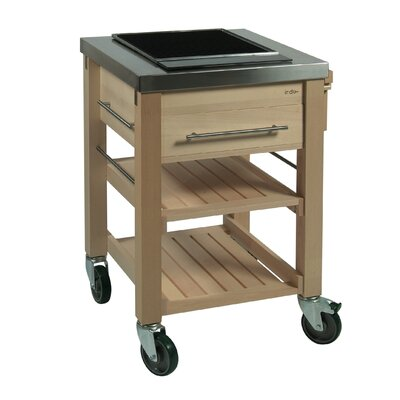 Indu+ BeechBoy Bar Serving Trolley