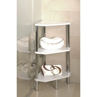 House Additions Bellisima Metal Free Standing Shower Caddy