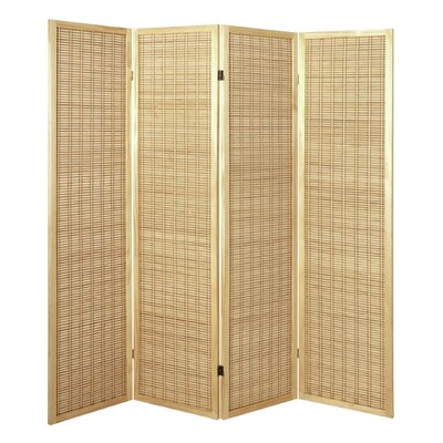 House Additions 179cm x 182cm Eila Paravent 4 Panel Room Divider