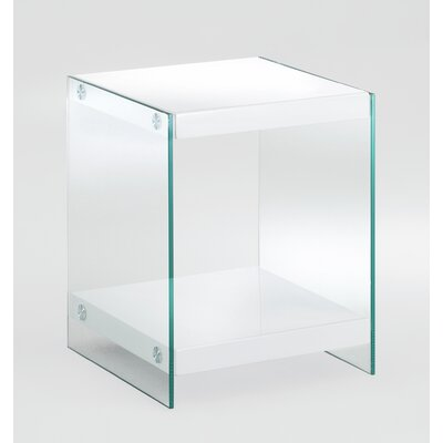 House Additions Modern Square Side Table