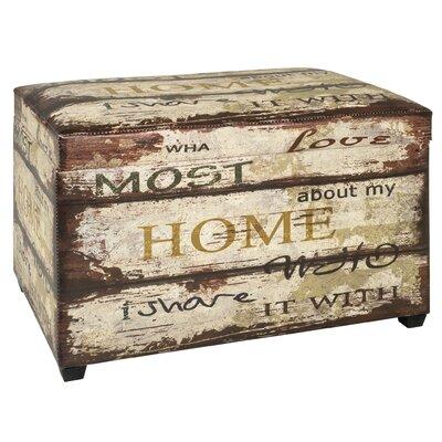 Haku Foldable Upholstered Seat Box