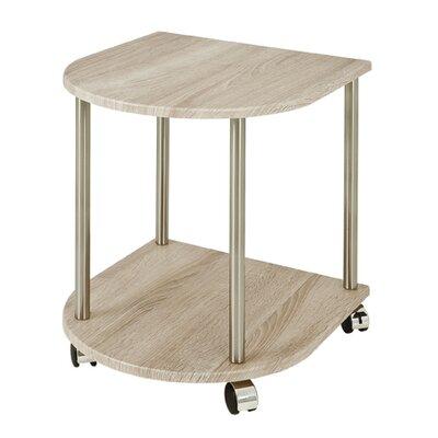 Haku Oak Mobile Side Table