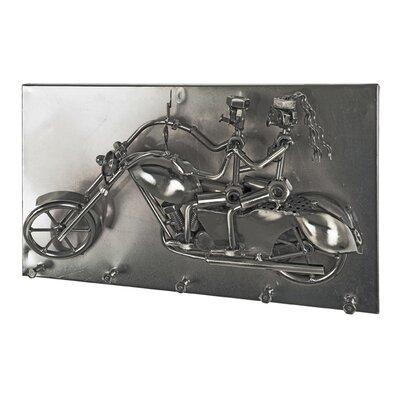 Haku Wall-Mounted Coat Rack with 5 Hooks