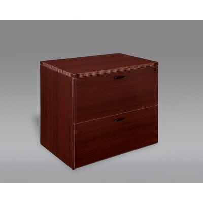 Fairplex 2-Drawer File Cabinet Finish: Mahogany