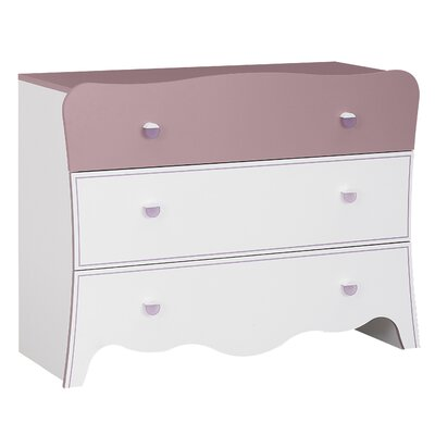 Gami Elisa 3 Drawer Chest of Drawers