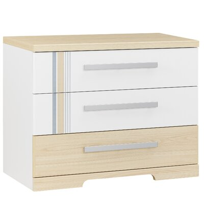 Gami Titouan 3 Drawer Chest of Drawers