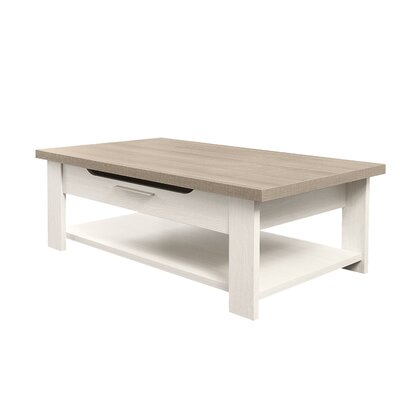 Gami Toscane Coffee Table with Magazine Rack