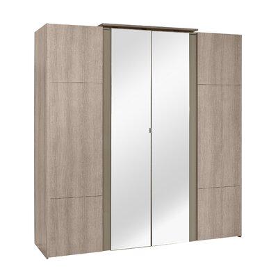Gami Quadra 4 Door Wardrobe