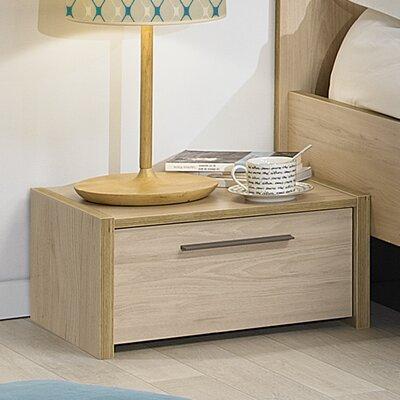 Gami Norah 1 Drawer Bedside Table
