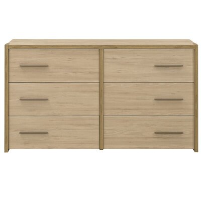 Gami Norah 6 Drawer Chest of Drawers