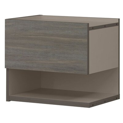 Gami Siena 1 Drawer Bedside Table