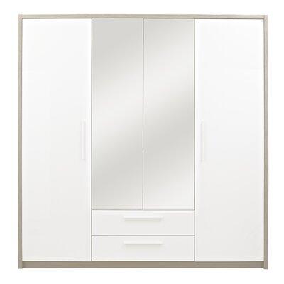 Gami Faro 4 Door Wardrobe