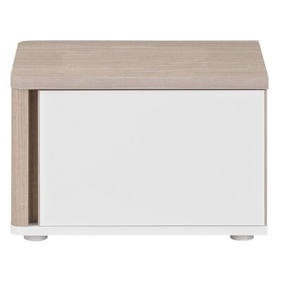 Gami Messina 1 Drawer Bedside Table