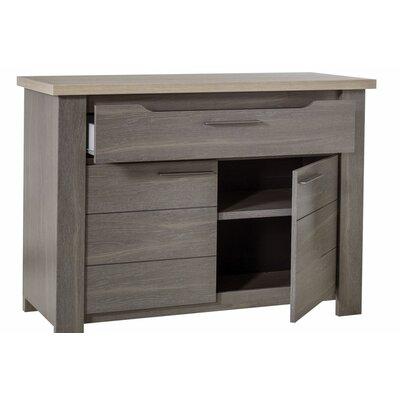 Gami Toscane 2 Door and 1 Drawer Storage Cabinet