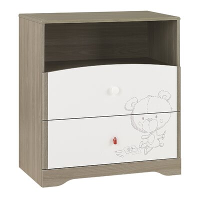 Galipette Martin 2 Drawer Chest of Drawers