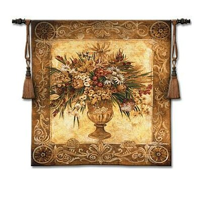 Fine Art Tapestries Tuscan Urn Sienna Tapestry