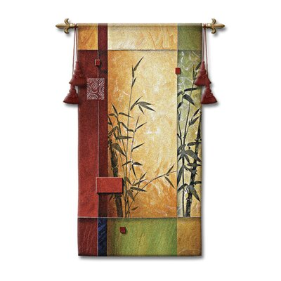 Fine Art Tapestries Abstract Garden Dance I by Don Li-Leger, Don Tapestry