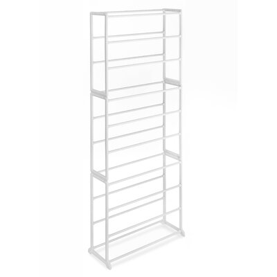 Floor 10-Tier 30 Pair Shoe Rack