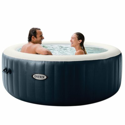 PureSpa 4-Person 140-Jet Inflatable Spa