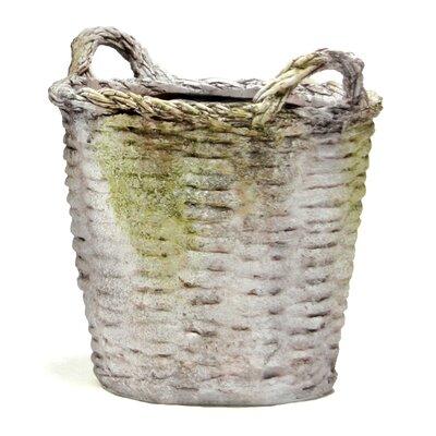 Kellye Fiberstone Pot Planter Size: Small, Drain Opening: Yes