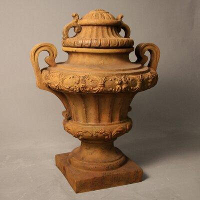 Cast Stone Urn Planter Drain Opening: No