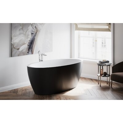 "Sensuality 69.75"" x 35"" Freestanding Soaking Bathtub"