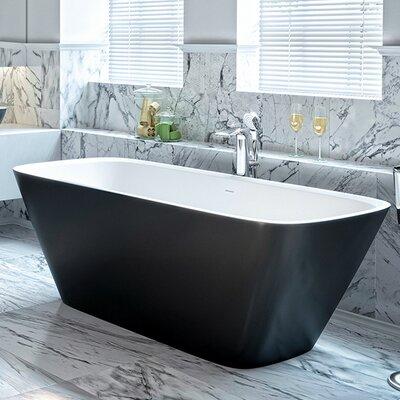 "Arabella 68.5"" x 30.25"" Freestanding Soaking Bathtub"