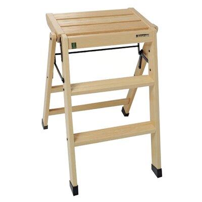 Foppapedretti Casa 3-Step Wood Step Stool
