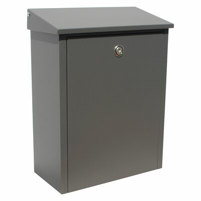 Allux Locking Wall Mounted Mailbox