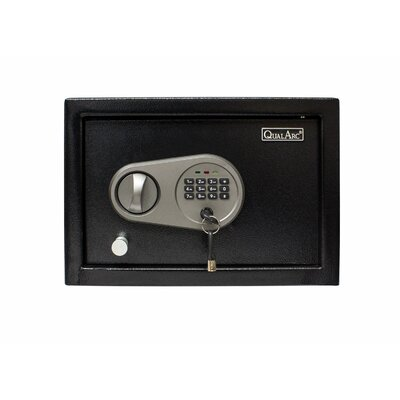 """Drawer Safe Box with Electronic Lock Size: 8.7"""" H x 12.6"""" W x 4.3"""" D"""