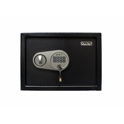 """Personal Safe Box with Electronic Lock Size: 9.8"""" H x 13.5"""" W x 9.8"""" D"""