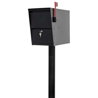 LetterSentry Locking Mailbox with Post Included