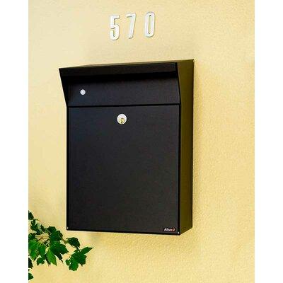 Allux Locking Wall Mounted Mailbox