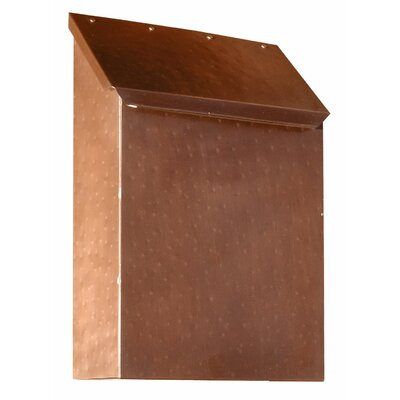 Provincial Wall Mounted Mailbox Finish: Hammered Antique Copper
