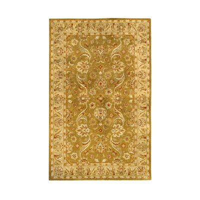 Noble House Harmony Gold Floral Area Rug