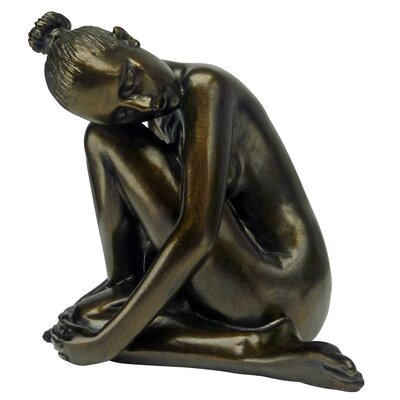Design Toscano Visions of Leila Nude Female Study Head Turned Figurine