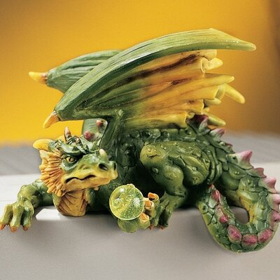 Design Toscano Dungeon Dragon Computer Companion Figurine