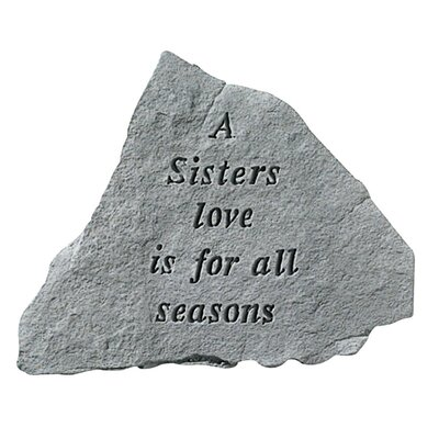 Design Toscano A Sisters Love...Cast Stone Memorial Garden Marker Stepping Stone