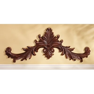 Design Toscano Baroque Architectural Pediment Wall Décor