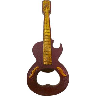 Design Toscano Rock and Roll Guitar Bottle Opener