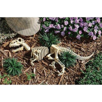 Design Toscano Raptor Skeleton Garden Statue