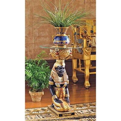 Design Toscano The Egyptian Goddess Eset Pedestal Plant Stand